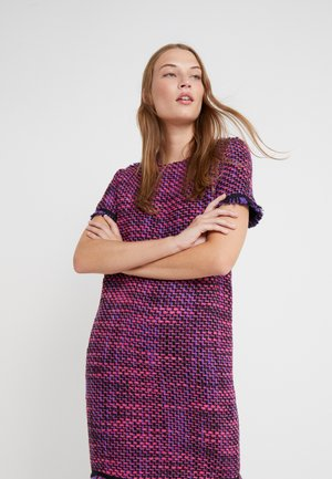 DAMINI - Shift dress - amethyste