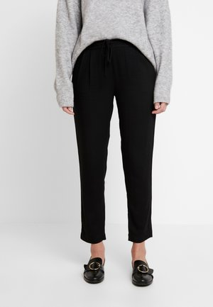 LEWIS PANTS - Trousers - black
