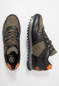 Bogner - SEATTLE - Sneakersy niskie - black/olive - 1