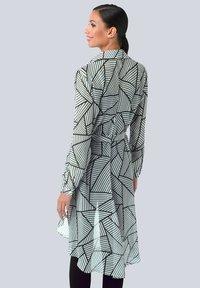 Alba Moda - Button-down blouse - weiß,schwarz - 2