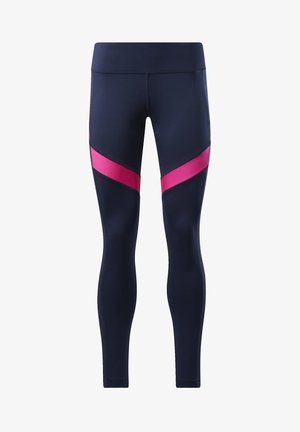 WORKOUT READY MESH LEGGINGS - Leggings - blue