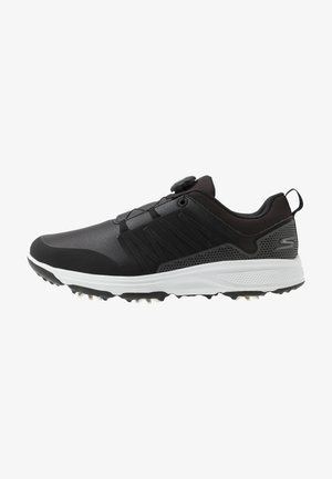 TORQUE TWIST - Golf shoes - black/white