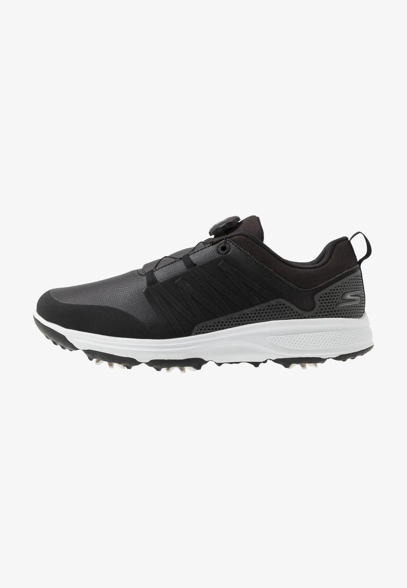 Skechers Performance - TORQUE TWIST - Golfové boty - black/white