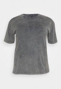Vero Moda Curve - VMFOREVER OVERSIZED - T-shirts med print - black - 4