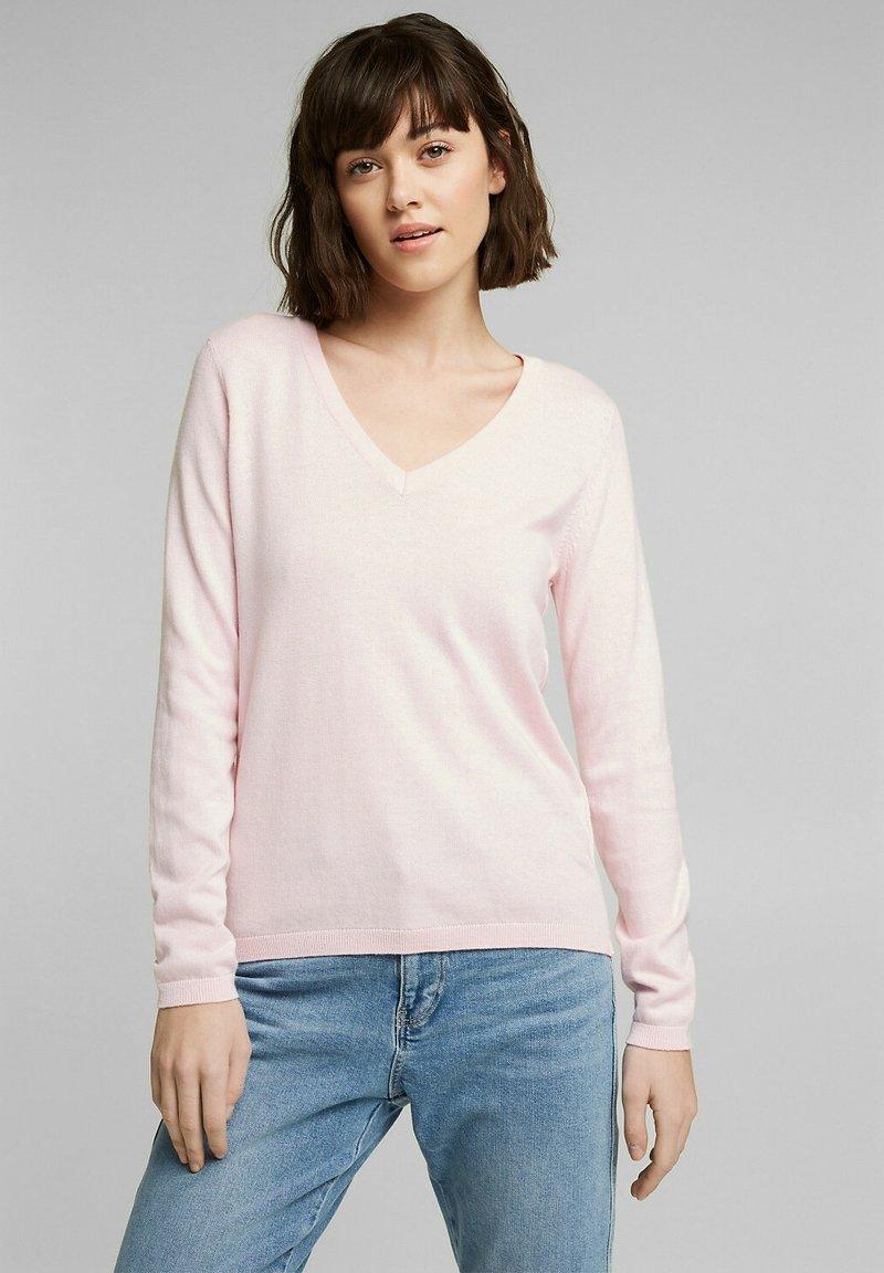 edc by Esprit - COO  - Jumper - light pink