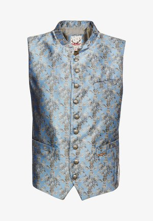 CLOONEY - Waistcoat - blau