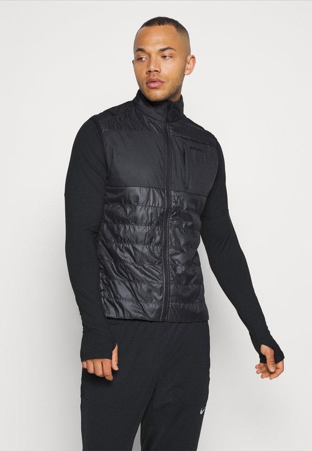 STORM INSULATE VEST - Waistcoat - black