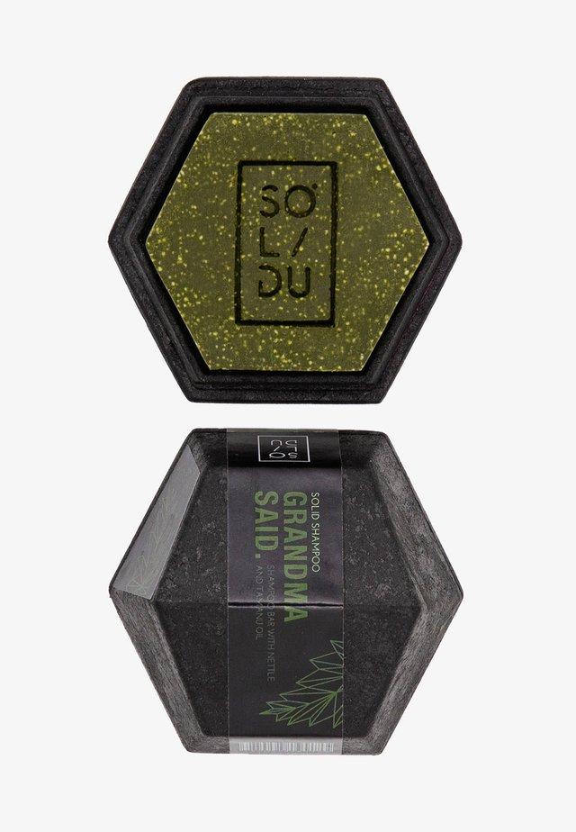 SOLID SHAMPOO GRANDMA SAID. - Shampoing - dark green
