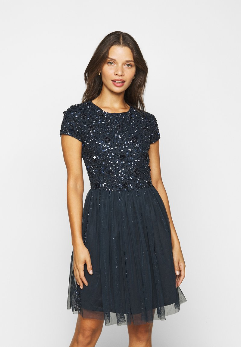 Lace & Beads Petite - NESSIA - Cocktailkjole - navy