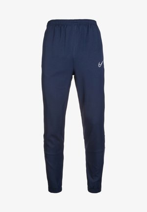 DRY ACADEMY - Tracksuit bottoms - obsidian/white
