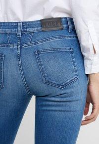 CLOSED - BAKER LONG - Jean slim - mid blue - 5