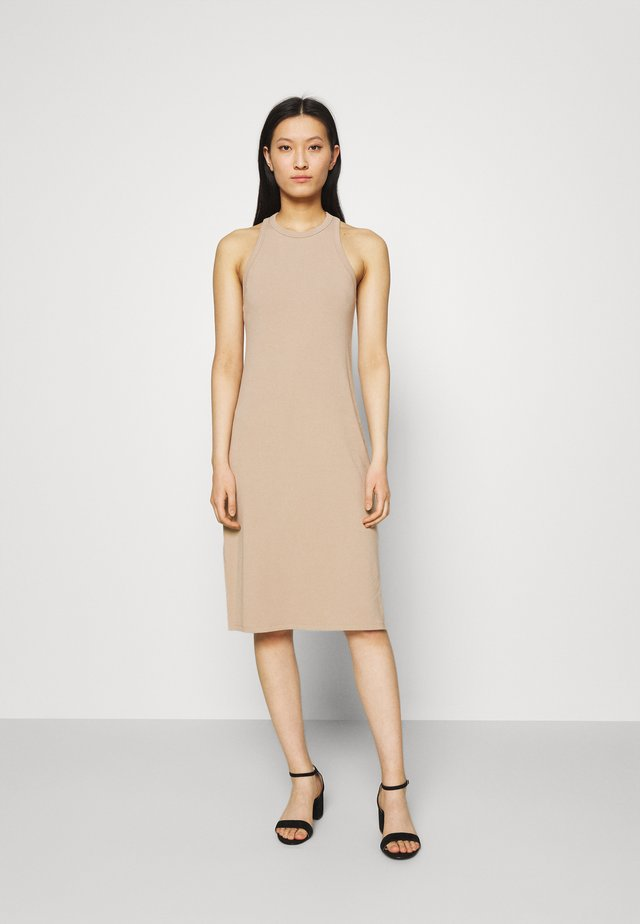 Korte jurk - natural
