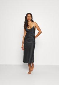 LingaDore - LONG DRESS - Nachthemd - black - 1
