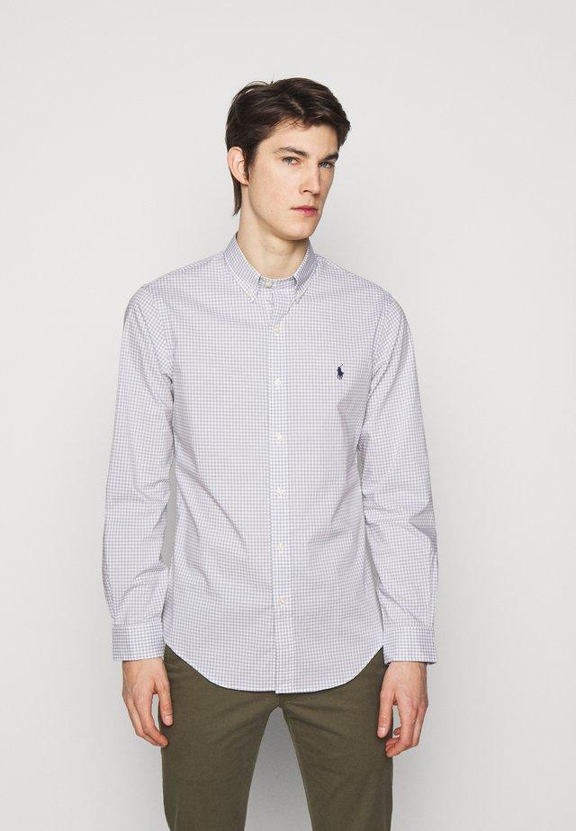 NATURAL - Shirt - grey/white