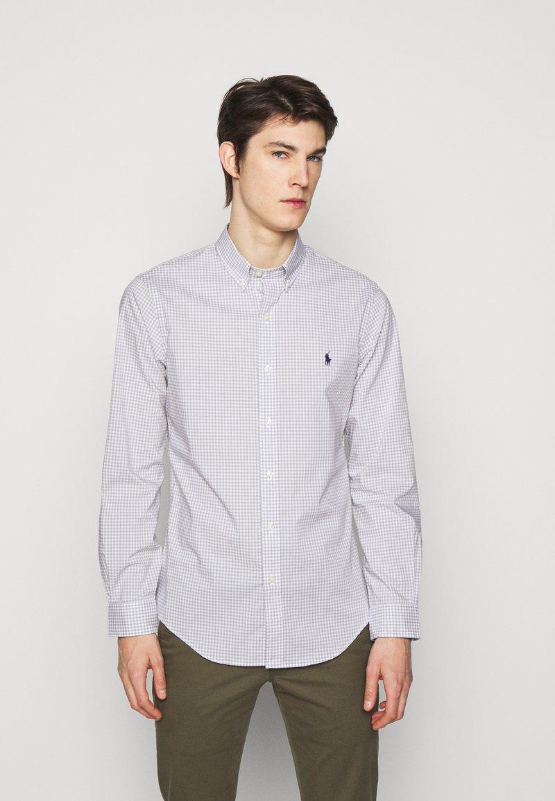 Polo Ralph Lauren - NATURAL - Shirt - grey/white