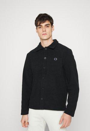 OVERSHIRT - Fleece jacket - black