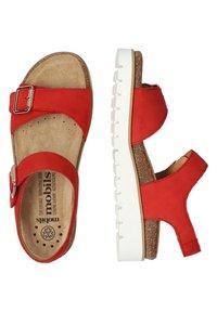 Mobils Ergonomic - Walking sandals - scarlet - 2