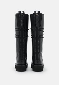 Furla - RITA ARMY HIGH BOOT - Lace-up boots - nero - 3