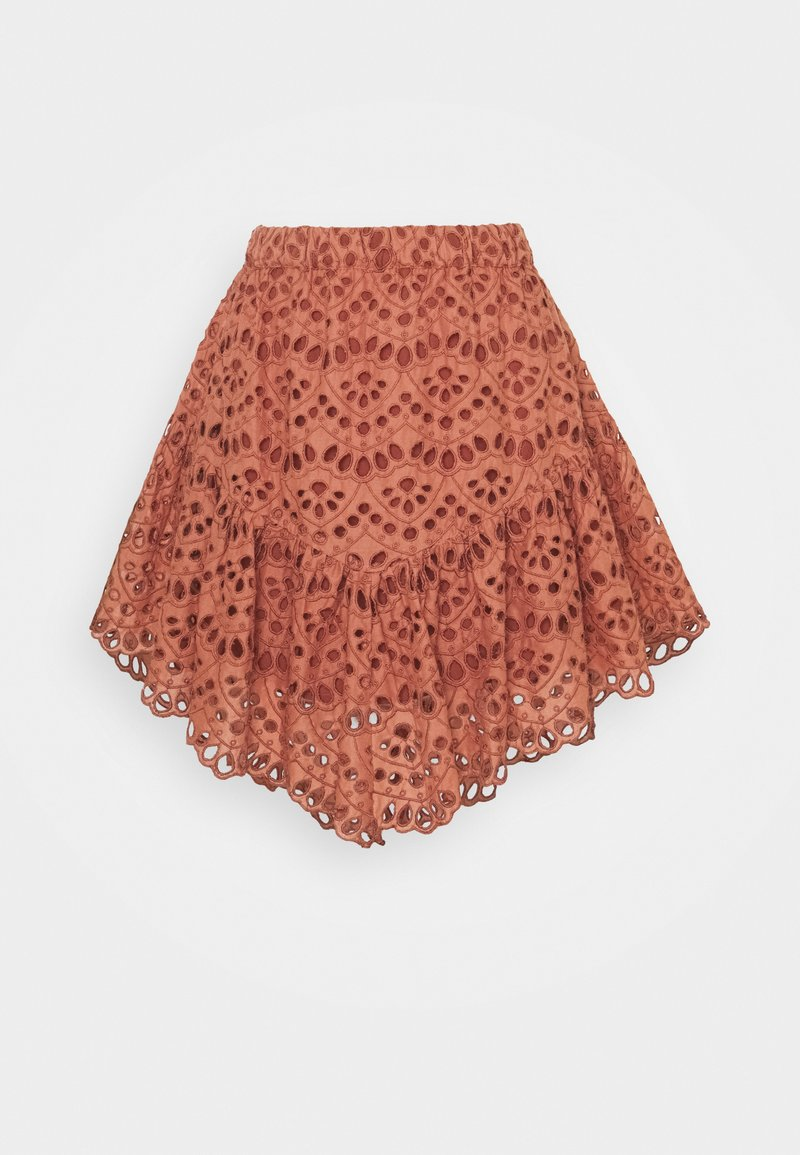 YAS - YASVALANTA SKIRT ICON  - Mini skirt - cedar wood