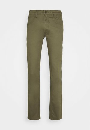 DAREN ZIP FLY - Jean droit - ivy green