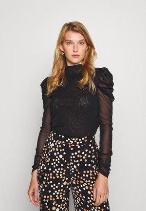 NEW REMY - Bluzka z długim rękawem - black