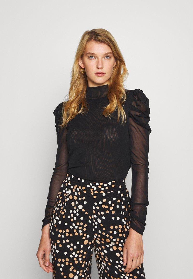 Diane von Furstenberg - NEW REMY - Long sleeved top - black