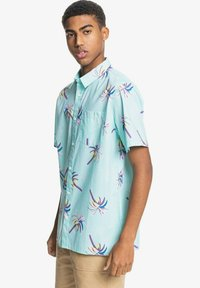 Quiksilver - Shirt - blue tint royal palms - 3