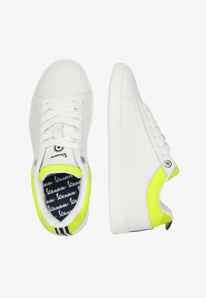 FESTIVAL - Trainers - 1032 - bianco-giallo acceso