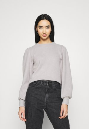 ASLI - Jumper - grey melange