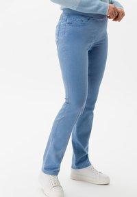 BRAX - STYLE PAMINA - Trousers - sky - 2