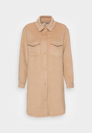 SHACKET LONG - Light jacket - tan wool