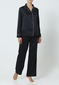 BlueBella - CLAUDIA - Pyjama set - black/pale pink - 0