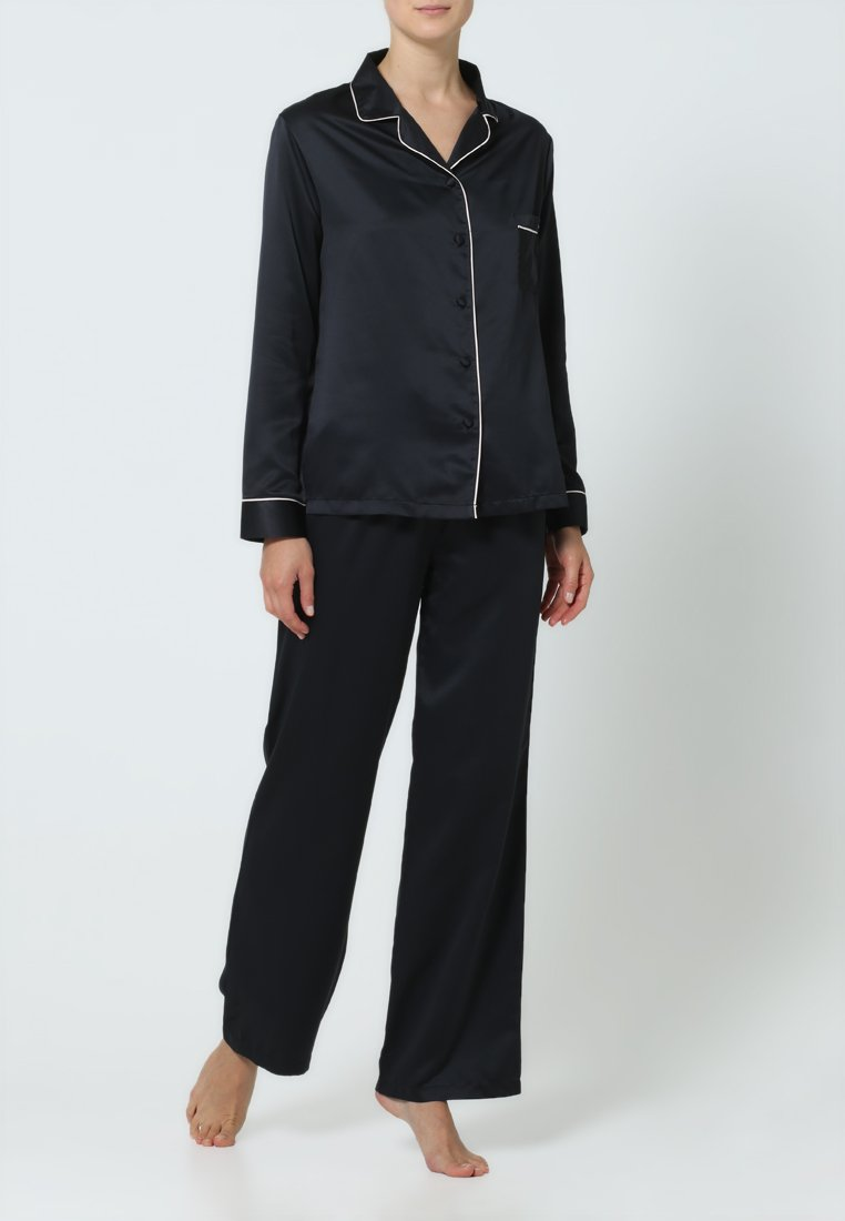 BlueBella - CLAUDIA - Pyjama set - black/pale pink