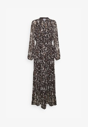 VMMALLY DRESS - Maxi dress - black/mally tan