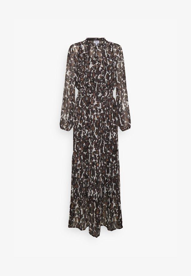 VMMALLY DRESS - Długa sukienka - black/mally tan