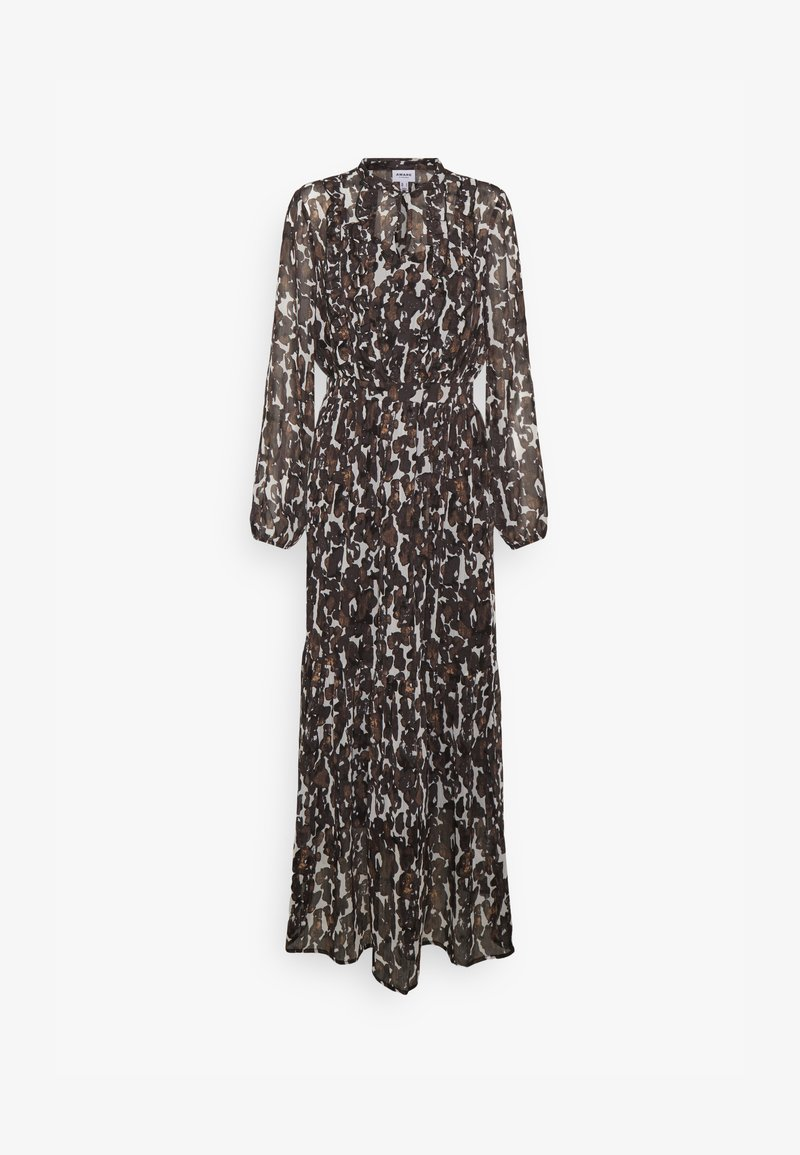 Vero Moda - VMMALLY DRESS - Maksimekko - black/mally tan