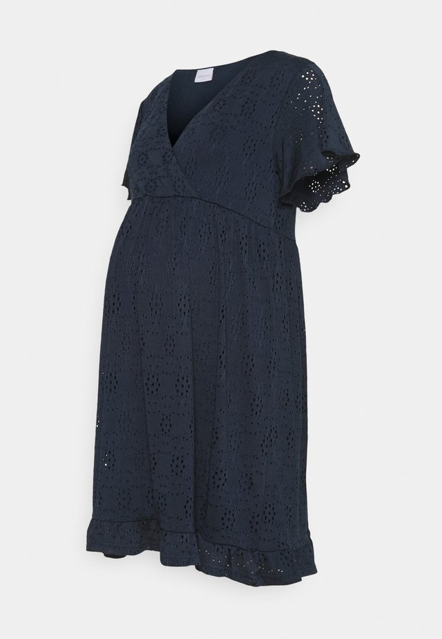 MLDENISE TESS SHORT DRESS - Jerseyjurk - navy blazer
