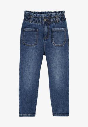 PAPERBAG-STIL - Straight leg jeans - blue stone