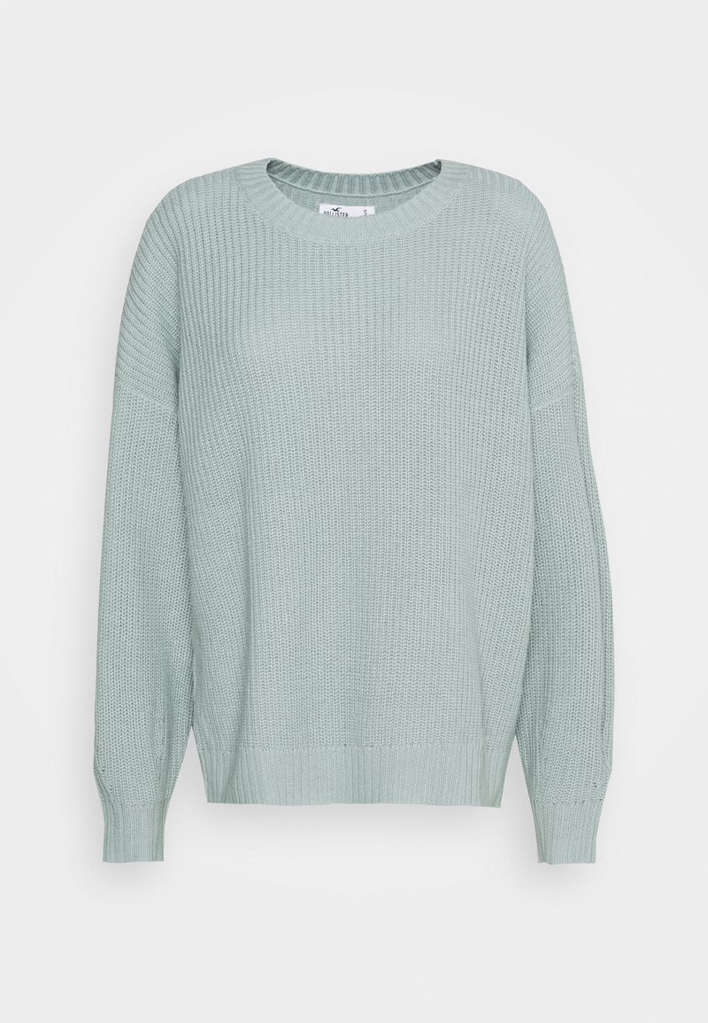 Hollister Co. - CORE CREW - Svetr - gray mist