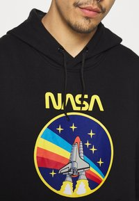 Nominal - NASA ROCKET HOOD - Sweatshirt - black - 4