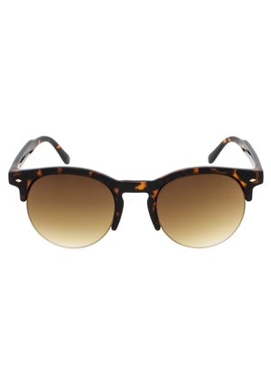 MARTINE - Sunglasses - tortoise & matt tortoise