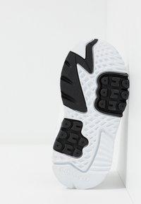 adidas Originals - NITE JOGGER - Slip-ons - footwear white/crystal white - 5
