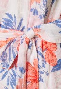 GAP Petite - MIDI TIE WAIST DRESS - Day dress - white - 2