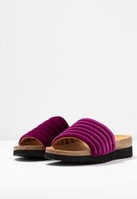 Scholl - MYA  - Domácí obuv - fuchsia - 4