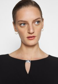 Lauren Ralph Lauren - MID WEIGHT DRESS TRIM - Shift dress - black - 4