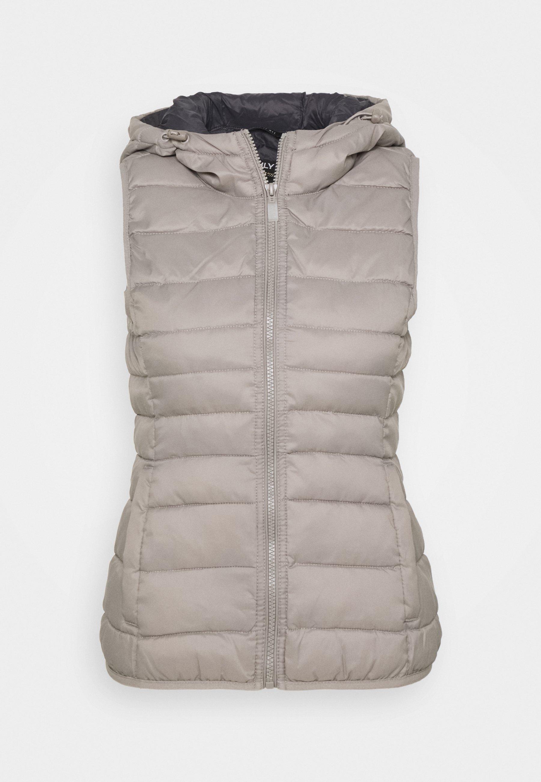 Women ONLNEWTAHOE HOOD WAISTCOAT - Waistcoat