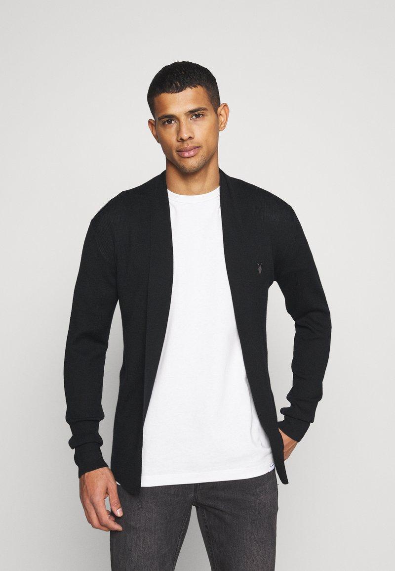 AllSaints - MODE OPEN CAR - Cardigan - black