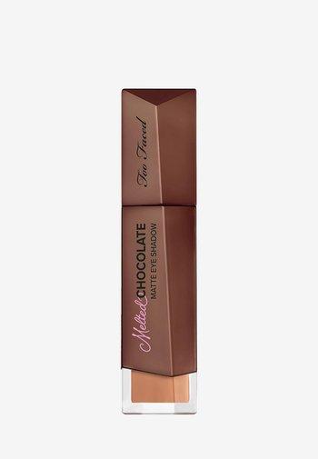 MELTED CHOCOLATE EYE SHADOW - Eye shadow - chocolate bunny