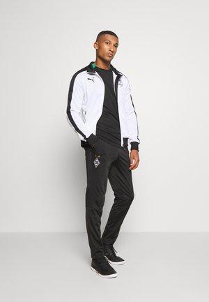 BORUSSIA MÖNCHENGLADBACH TRACK JACKET - Club wear - white/black