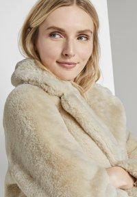 TOM TAILOR - Winter coat - warm sand beige - 6